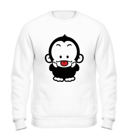 Свитшот Веселая обезьянка