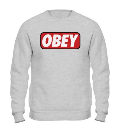 Свитшот Obey Sign