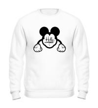 Свитшот Hello, Mickey Mouse