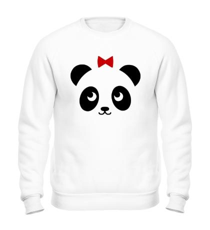 Свитшот Панда, для нее