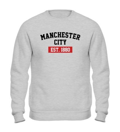 Свитшот FC Manchester City Est. 1880