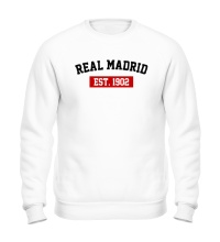 Свитшот FC Real Madrid Est. 1902