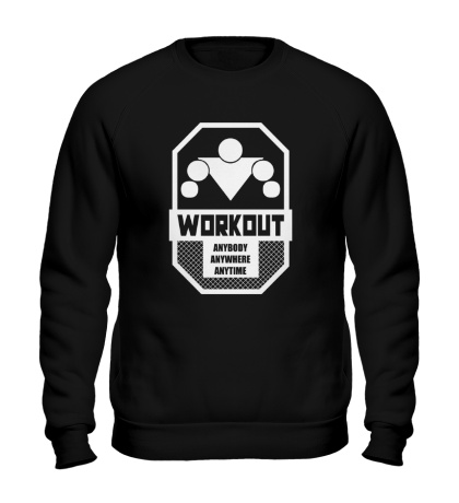 Свитшот Workout Anybody