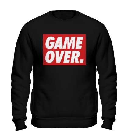 Свитшот Obey Game Over