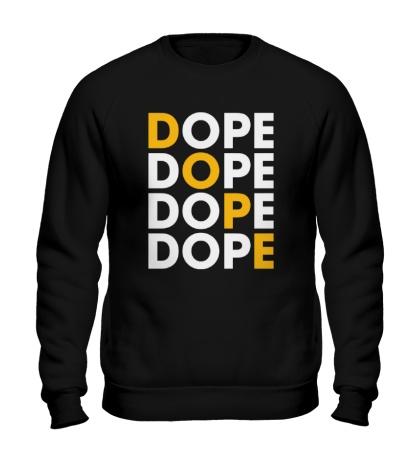 Свитшот Dope Lines