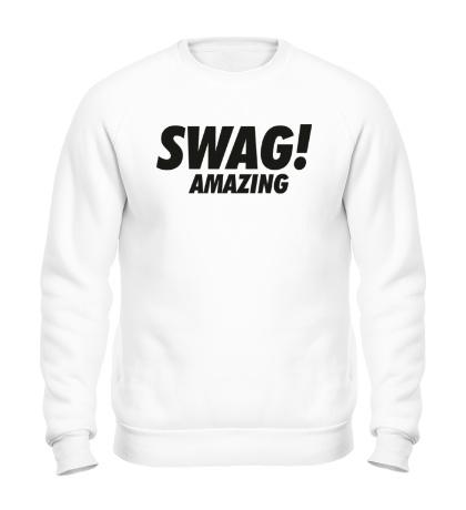 Свитшот Swag Amazing