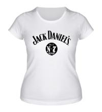 Женская футболка Jack Daniels: Old Brand