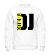 Свитшот Official DJ