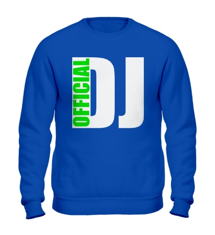 Свитшот Official DJ