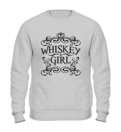 Свитшот Whiskey Girl
