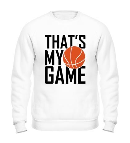 Свитшот Basketball my game
