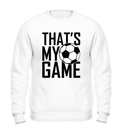 Свитшот Football my game