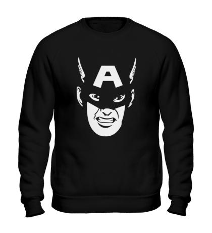 Свитшот Captain America: Face