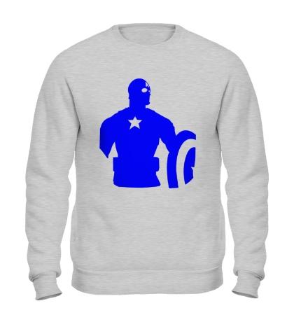 Свитшот Captain America: Silhouette