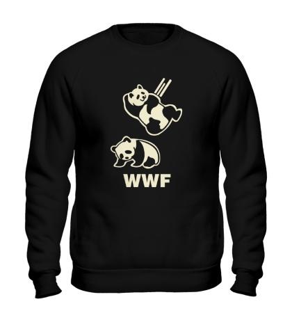 Свитшот WWF Panda Glow