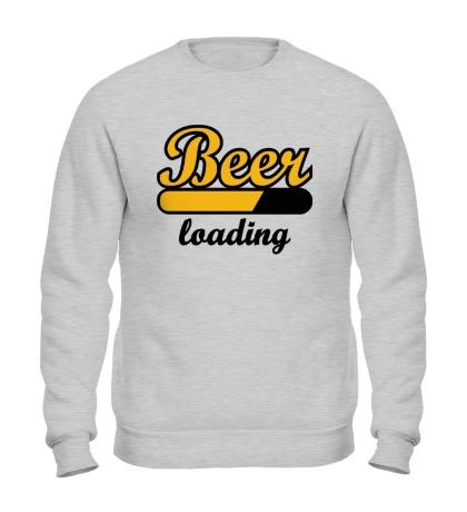 Свитшот Beer Loading