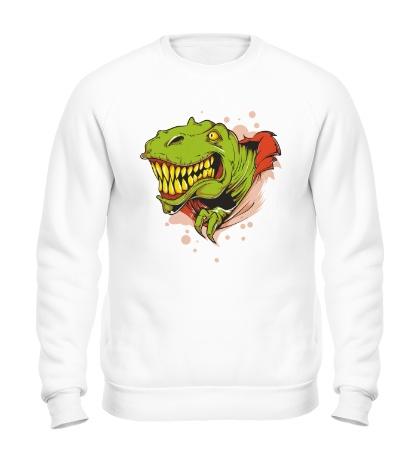 Свитшот Голова тираннозавра