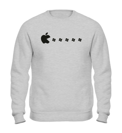 Свитшот Apple pacman