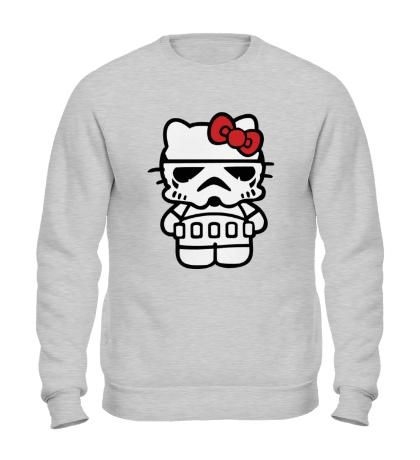 Свитшот Kitty storm trooper