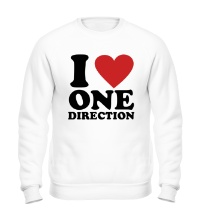 Свитшот I love One Direction