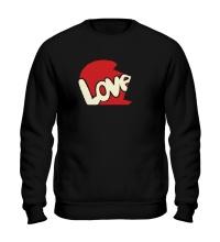Свитшот Love is парная