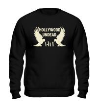Свитшот Hollywood Undead Birds Glow