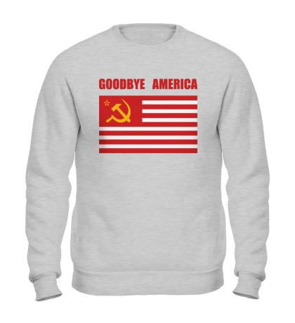 Свитшот Goodbye America