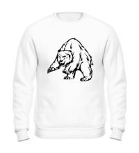 Свитшот Ярый медведь