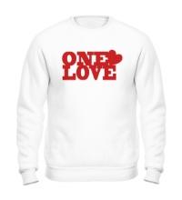Свитшот One love