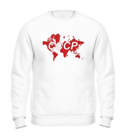 Свитшот Весь мир СССР
