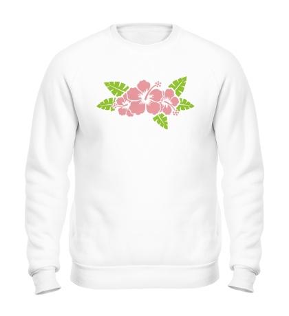 Свитшот Красивые цветы