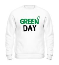 Свитшот Vegan green day