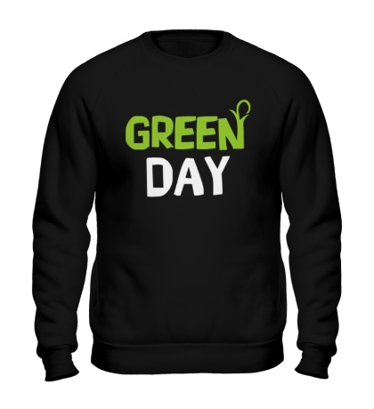 Свитшот Vegan green day