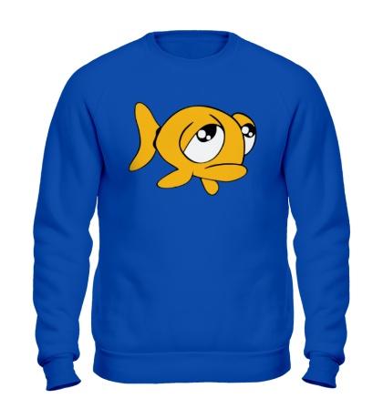 Свитшот Грустная рыба