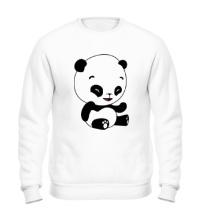 Свитшот Панда смеется