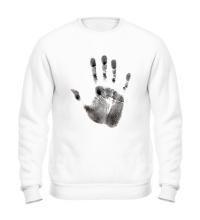 Свитшот Отпечаток руки