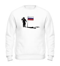Свитшот Русский на луне