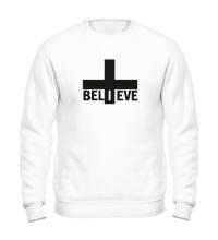 Свитшот Believe