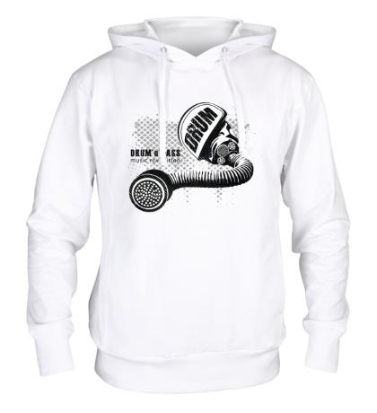 Толстовка с капюшоном DnB music revolution