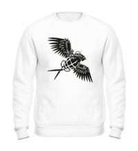 Свитшот Граната с крыльями