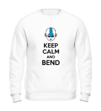 Свитшот Keep calm and band