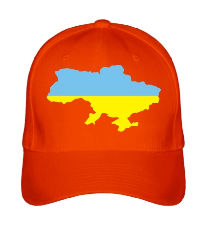 Бейсболка Карта Украины
