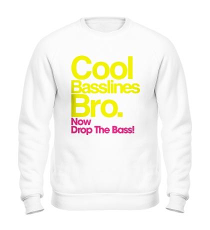 Свитшот Cool baseline bro