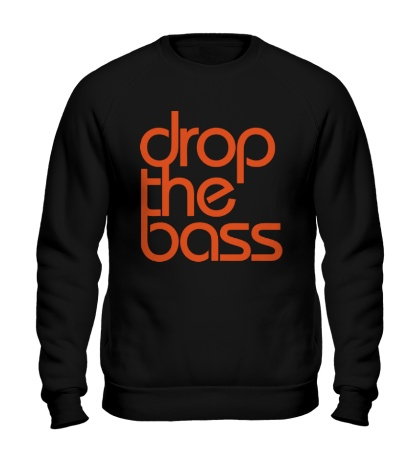 Свитшот Drop the Bass Please