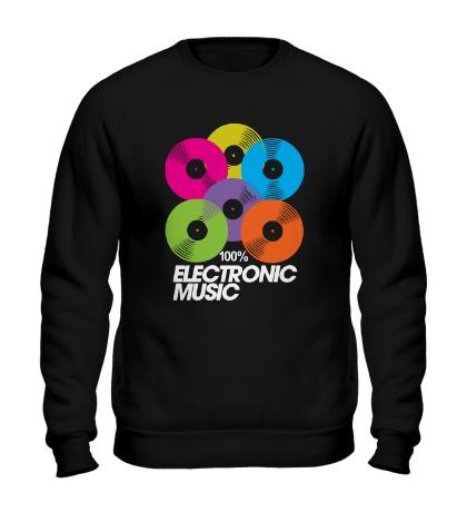 Свитшот Electronic Vynil Music