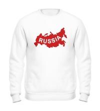 Свитшот Карта России