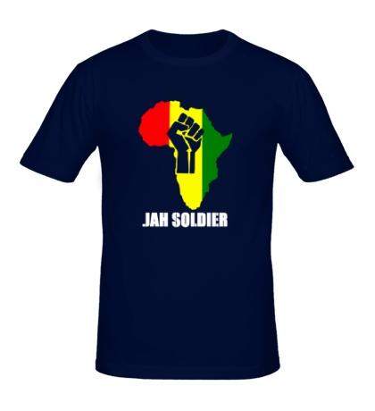 Мужская футболка Jah Soldier