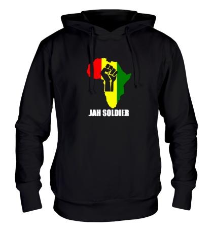 Толстовка с капюшоном Jah Soldier