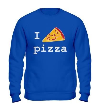Свитшот I love Pizza