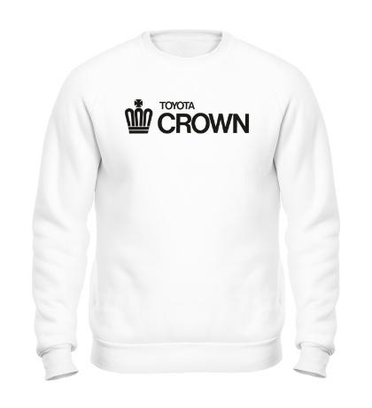 Свитшот Toyota crown big logo
